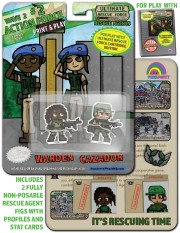 URF! Wave 2: Action Force 2: Warden and Cazador